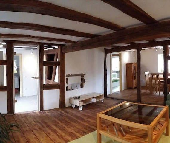 Historic Farmhouse (200 yrs) - Börrstadt - Departamento