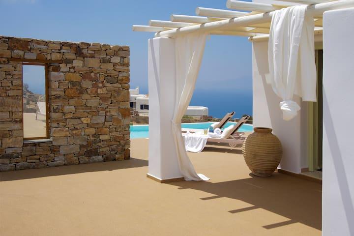 Villa Zas - Naxos Grande Vista - Vivlos - Vila