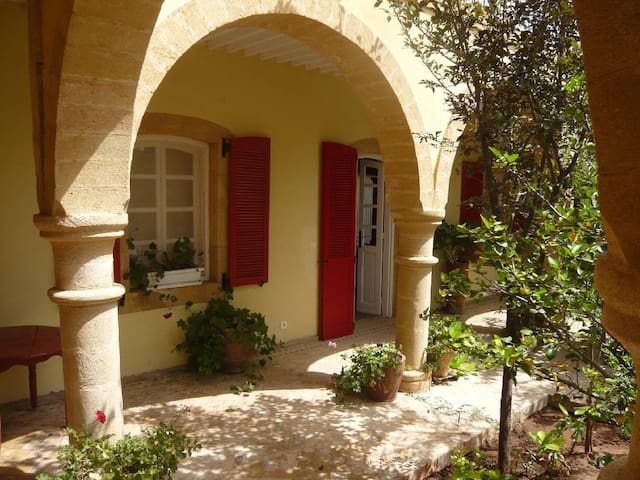Large studio in a riad with pool - Ounara - Huis