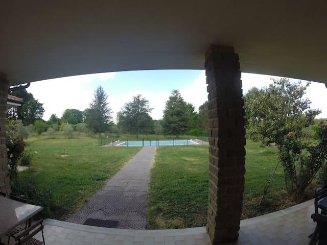 Grande villa avec grande piscne - Oriolo Romano