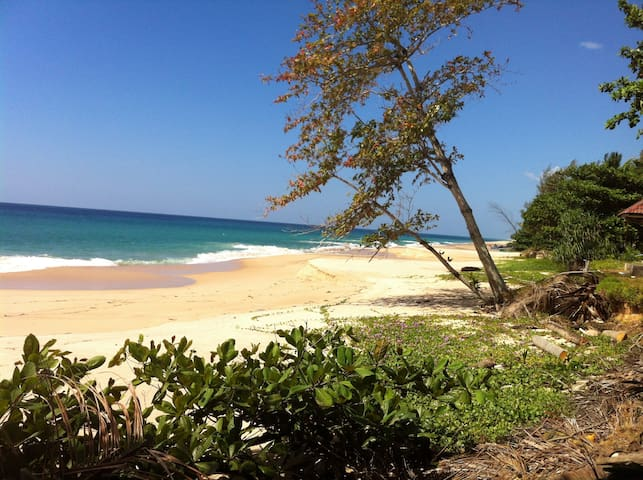 House on the beach, thai muang