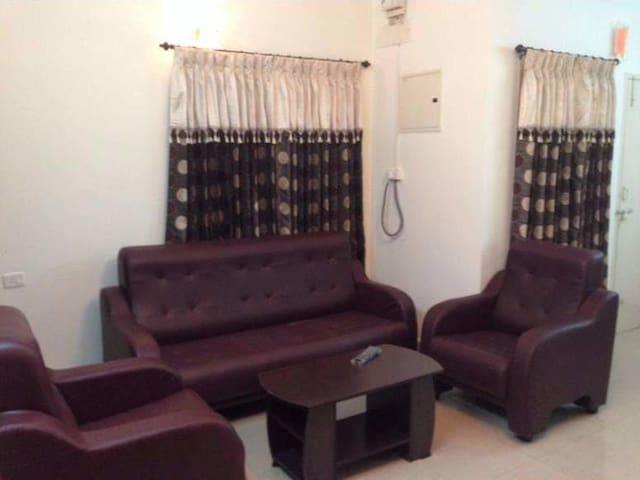 Cozy 3-Bedroom Apt in Kottayam Town - Kottayam