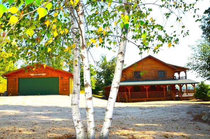 Moose Lodge Log Cabin - Harpers Ferry - Cabaña