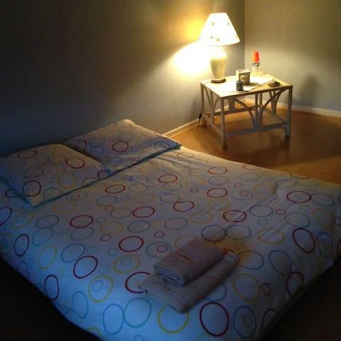 """""""Chambre Morgane"""" - Jolie chambre spacieuse - Ceyzériat - Rumah"""
