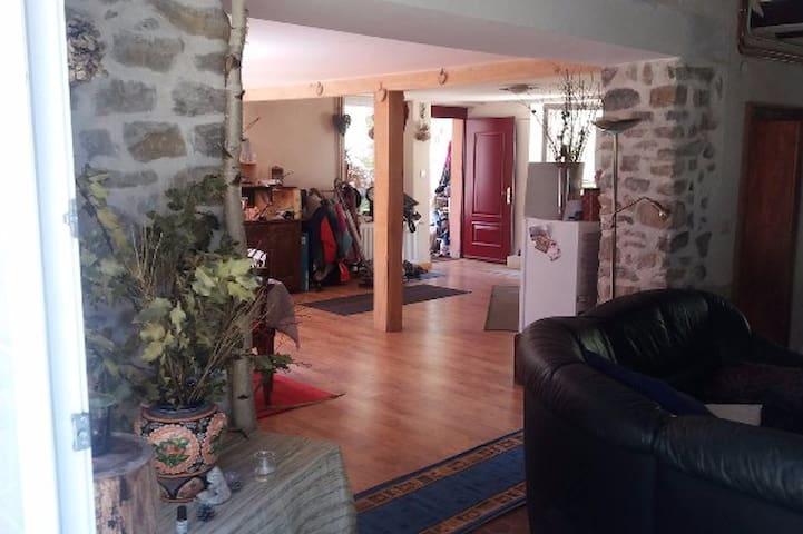 Havre de paix dans un coin de nature - La Croix-aux-Mines - Casa