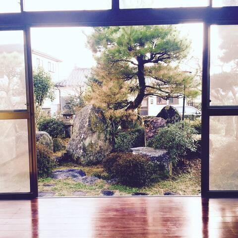 日本の伝統的な   お部屋とお庭 - 合志市 - Rumah