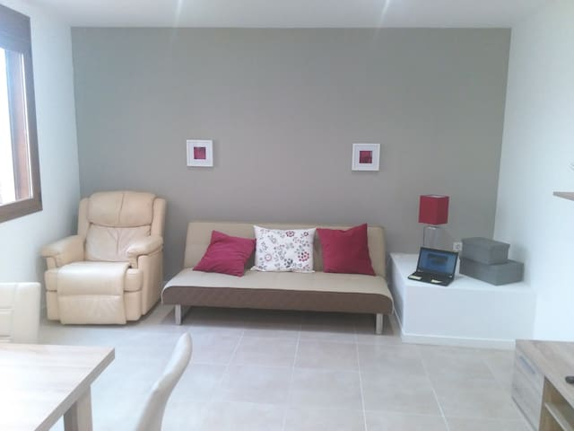 Cal Jordi Fulleda. Apartament nou, Catalunya. - Fulleda
