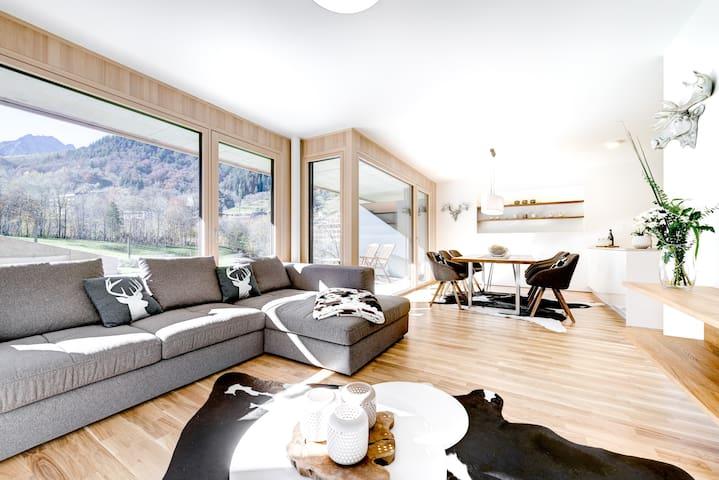 Montanara Lodge - design & family Apartement - Brand bei Bludenz - Departamento