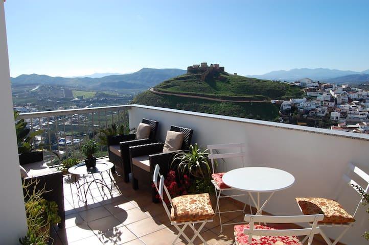 A luxury 2 bedroom penthouse - Álora - Apartment