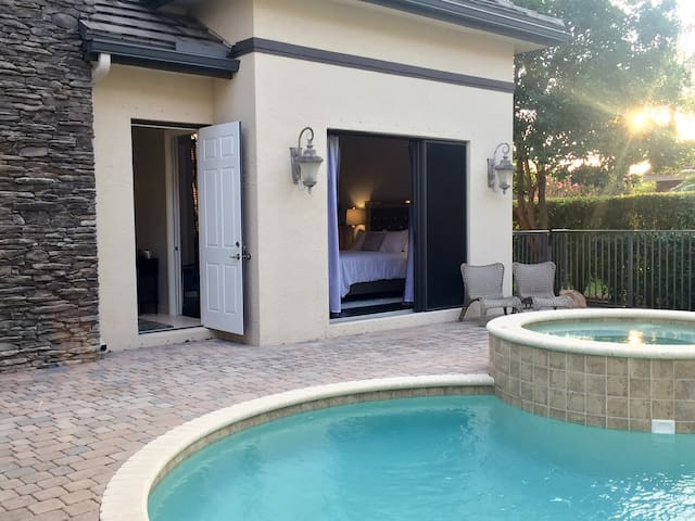 Pool House Polo Paradise. - Wellington - Pension
