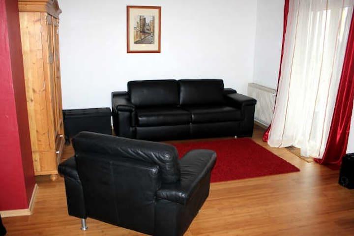 Modern apartment near Mainz, Wiesbaden, Frankfurt - Nieder-Olm - Huoneisto