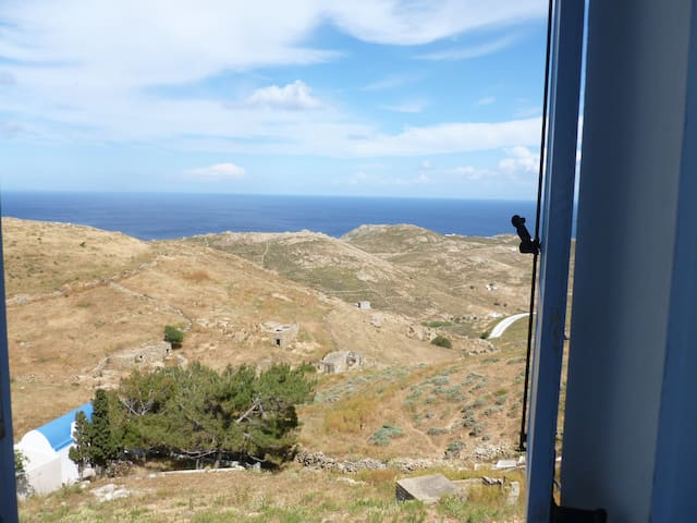 Welcoming place, astonishing view - Serifos - House