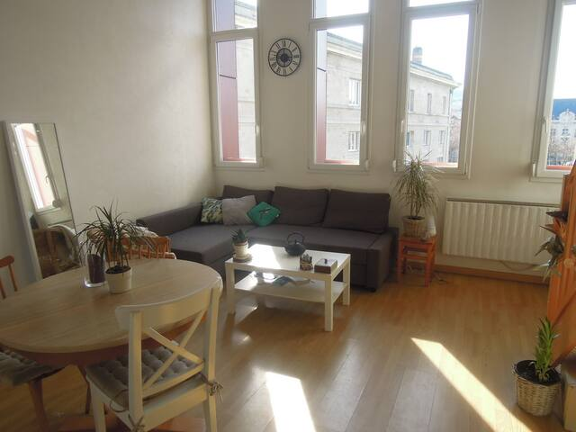 Nice duplex in city center - Épernay - Appartement