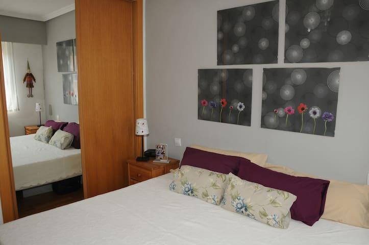 Double room, with private bathroom. - Madrid - Appartement