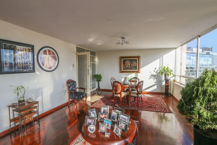 Habitación con Gran Vista en Miraflores - Lima - Lejlighed
