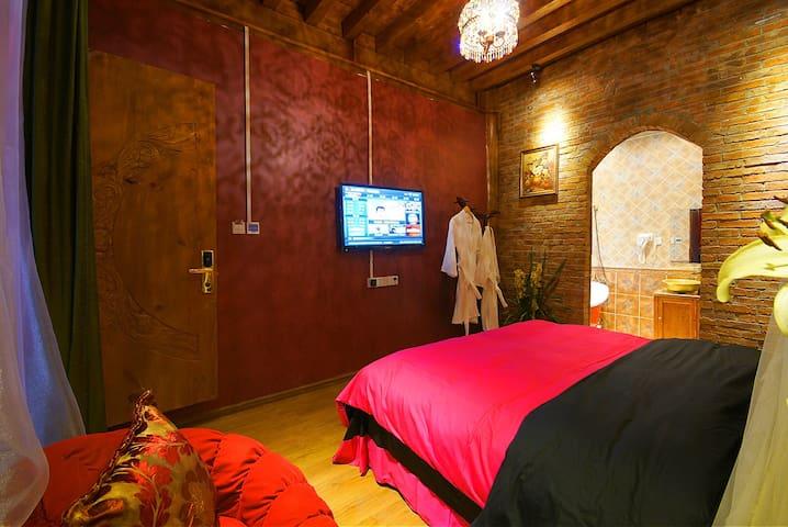 丽江异国风情浴缸房 - Lijiang - Loft