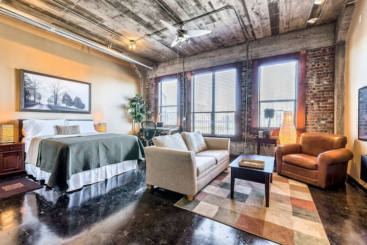 Downtown Loft with city views - Houston - Loft-asunto