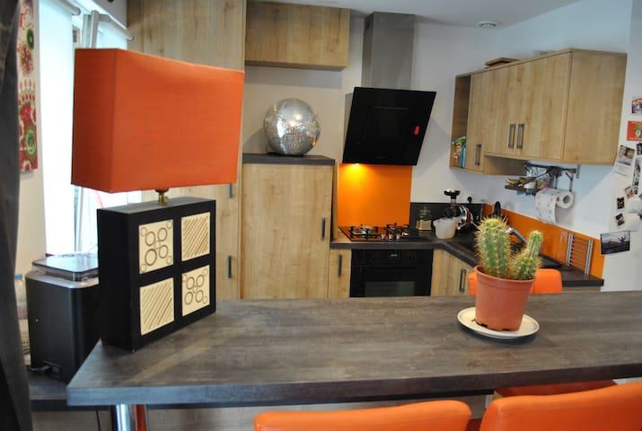 duplex ultra centre Lisieux - Lisieux - Appartement