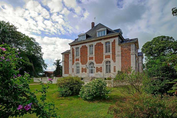 Chambre raffinée dans un château à la campagne - Beuzevillette - Pension