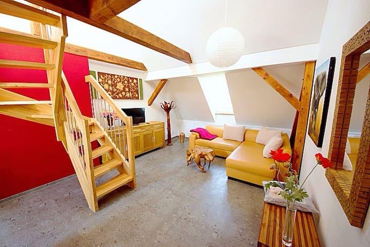 Maisonettewohnung am Schwanenteich - Spremberg - Appartement