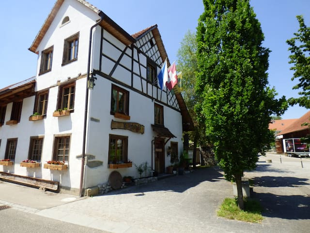 Bauernhauszimmer nah bei Winterthur und Frauenfeld - Hagenbuch - Casa