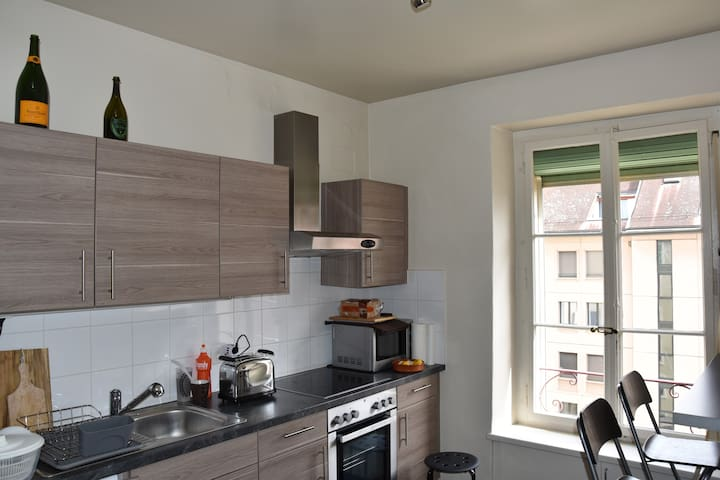 Petit appartement moderne à 200 m du lac - Genève - Appartement