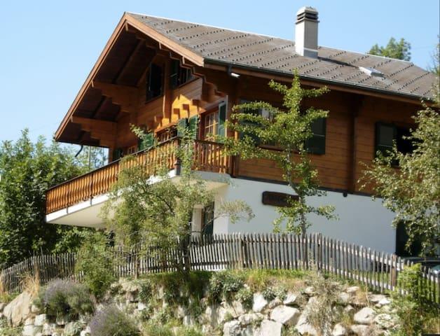 Beautiful Chalet Anne-Marie - Fiesch - Dağ Evi