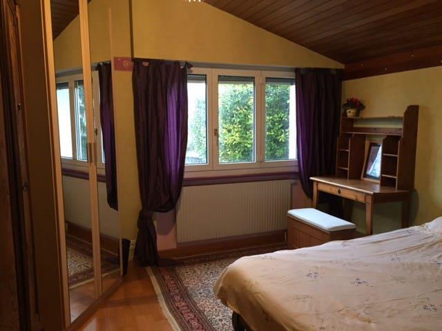 Chambre lumineuse et au calme à 5 min de Morges - Vufflens-le-Château - Casa de huéspedes