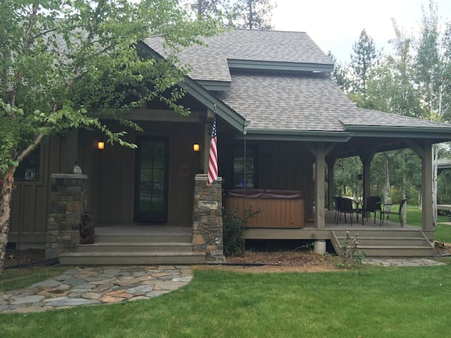 Cozy 4 Bed/3 Bath Modern Cabin Next To Lake - Sandpoint - Hus