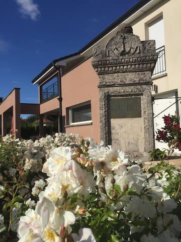 la villa des roses blanches - Cosnes-et-Romain - Hus