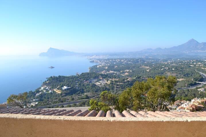 Prachtige vrijstaande villa met zeezicht - Altea - Villa