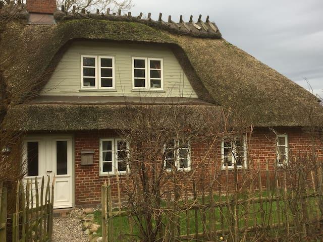 Wunderschönes, reetgedecktes Haus am Ostseestrand - Niesgrau - Hus
