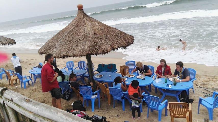 Ocean Green Beach Prampram - Prampram - Chalet