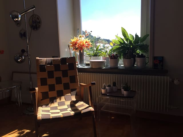 cosy flat with a balcony near Baden/Zurich - Ennetbaden - Appartement
