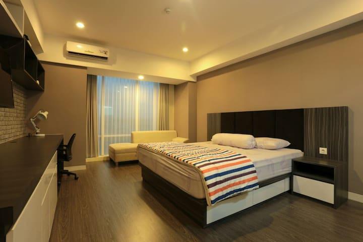 Comfortable & Spacious Apartment in Yogyakarta - Ngaglik - Lägenhet