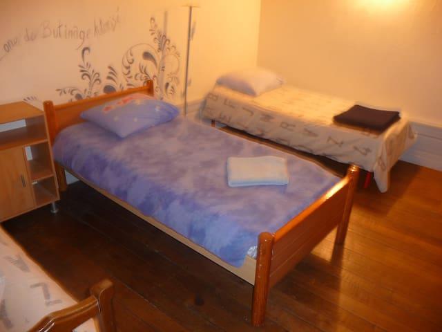 grande chambre proche luxembourg - Longwy - Appartement