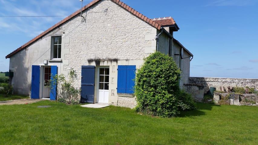 Authentique maison du 19ème - Sérigny - Casa