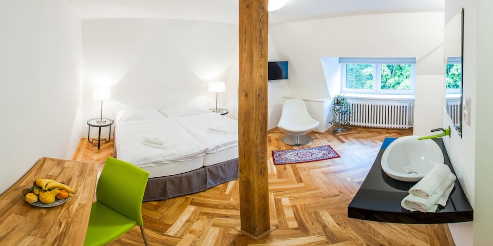 Acomodation in Prague-east (wifi) - Jevany - Bed & Breakfast