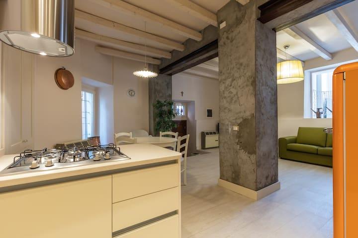 New Apartment  Monte Isola Lake ISEO - Peschiera Maraglio (Monte Isola) - Leilighet
