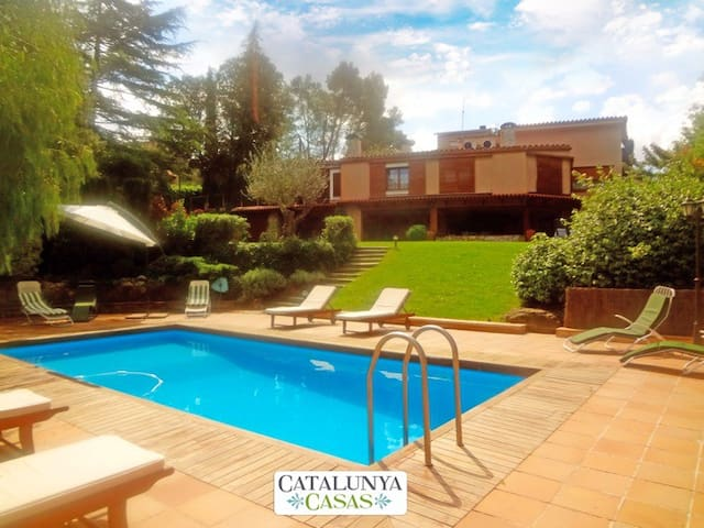 Fabulous country villa in Airesol D, only 25km from Barcelona! - Barcelona Region - Villa