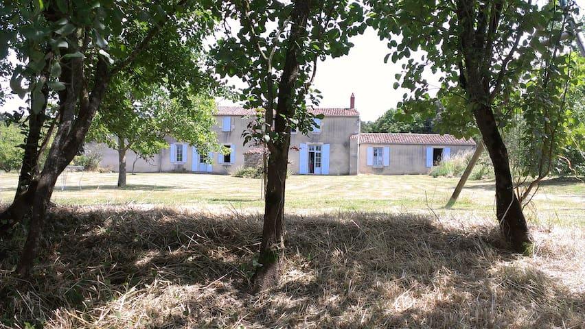 Vaste maison en cours de rénovation. 20 personnes - Saint-Cyr-en-Talmondais - Apartotel