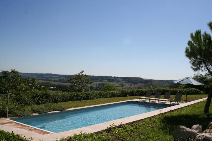 Le Clapier - Luxury house with huge heated pool - Verdun-sur-Garonne - 別荘