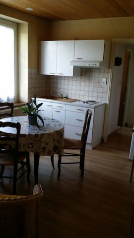 """Appart """"lucas"""" au coeur du Ht jura - Morbier - Appartement"""