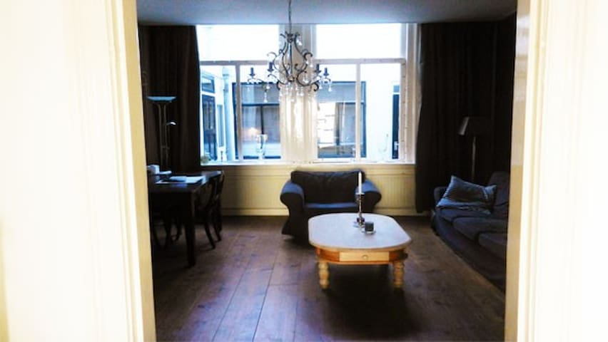Characteristic apartment only 5 min to center - Leiden - Departamento