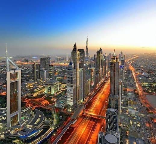 En-suite room in the heart of dubai - Dubai - Apartamento