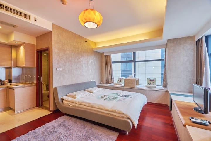 西湖边精装公寓,杭州最好的地段,靠近南宋御街和河坊街.Best place in Hangzhou. - Hangzhou - Service appartement