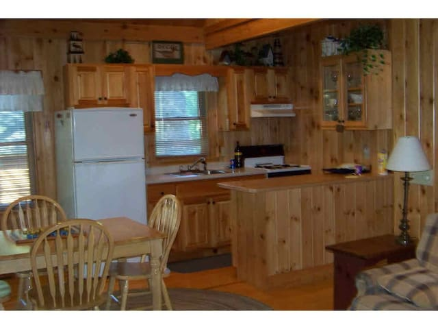 Quiet secluded log cabin - Shapleigh - Ev