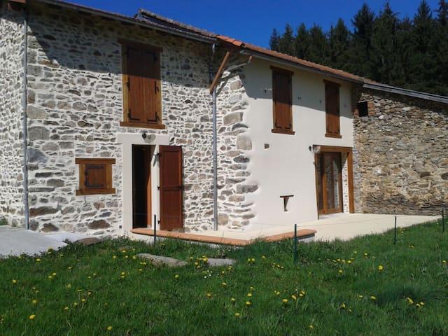 Belle maison de campagne de 120 m² à Toirat - Champagnac-le-Vieux - Casa de férias