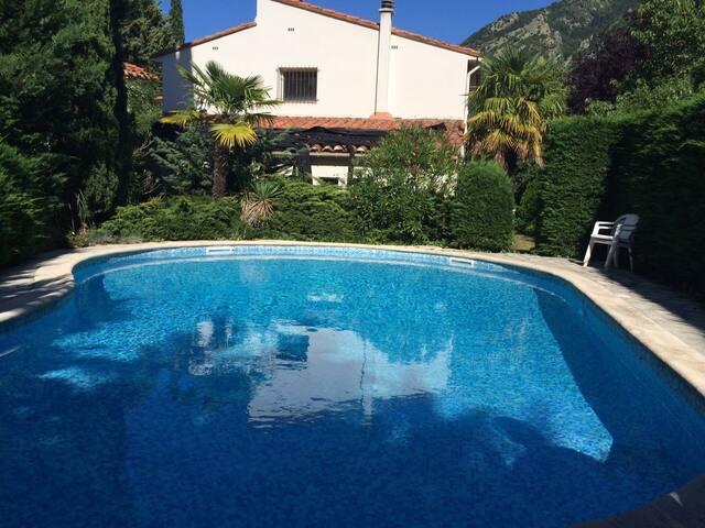 Maison de la Tour Clara, pool, garden, wifi, views - Clara - Villa
