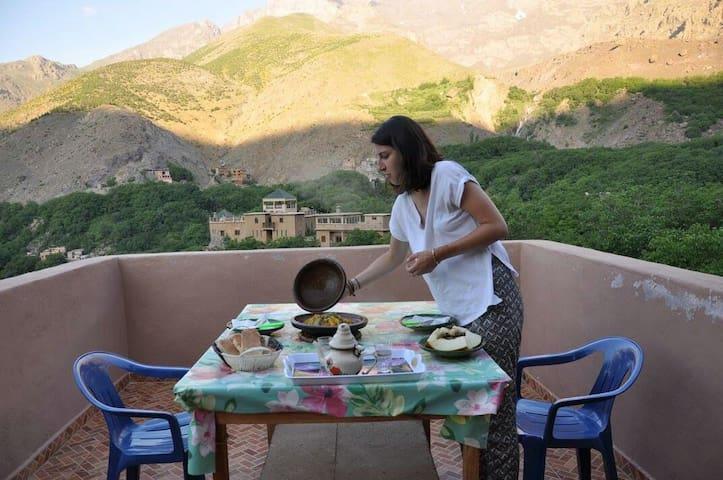 Gite panorama (chez l'habitent) - Imlil